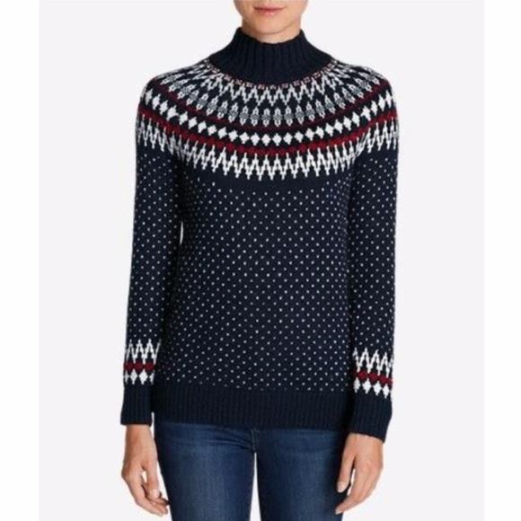 Eddie Bauer Sweaters - EDDIE BAUER Arctic Fair Isle Pullover Sweater  A4  f7fe53f76